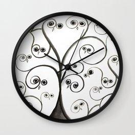 owltree Wall Clock