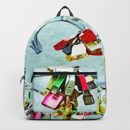 Love locks Backpack