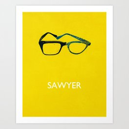 Sawyer Art Print