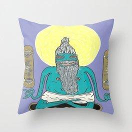 Skate Guru Throw Pillow