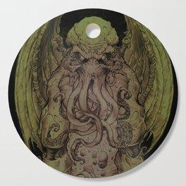 Cthulhu : Cosmic God Of Horror Cutting Board