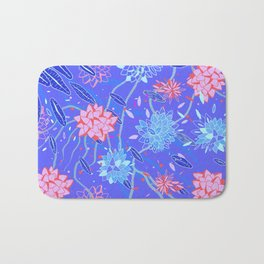 Heroinax Freaky Flowers Bath Mat