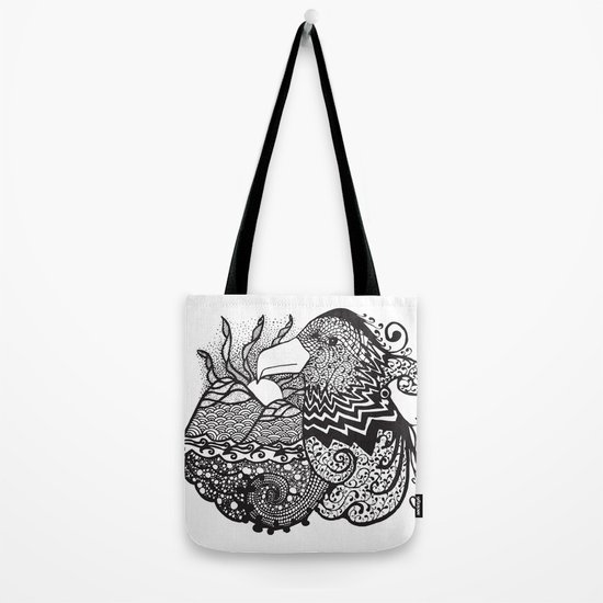 Conscious State Of Dreaming BW Tote Bag