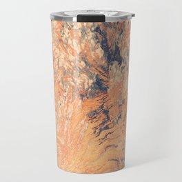 Metallic Flurry Travel Mug