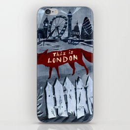 Locals/Only - London iPhone Skin