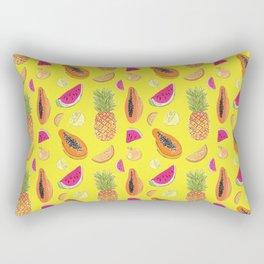 Frutas Tropicales Rectangular Pillow