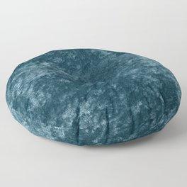 Peacock teal velvet Floor Pillow
