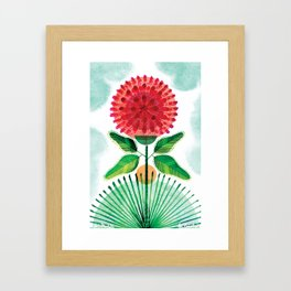 Red Clover Framed Art Print