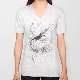 forest flower Unisex V-Neck