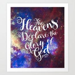 Heavens Art Print