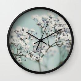 flowers VI Wall Clock