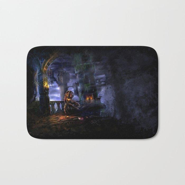 Castlevania: Vampire Variations- Bridge Bath Mat