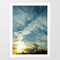 matisse Art Prints featuring Matisse Sunrise by Adam Clark