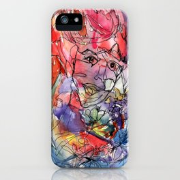 Carnival Watercolor  iPhone Case