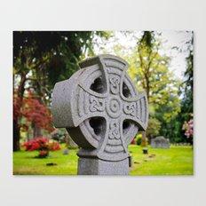 Cemetery beauty Canvas Print