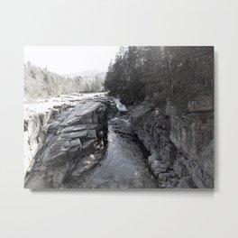 North Conway Rocks Metal Print