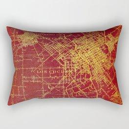 San Jose old map year 1899, united states vintage maps Rectangular Pillow