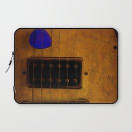 Blue Plectrum Laptop Sleeve