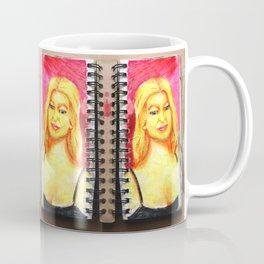 Euro Blonde from A Sketchbook Coffee Mug