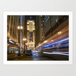 Chicago Board of Trails Art Print