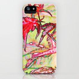 Laceleaf Maple iPhone Case