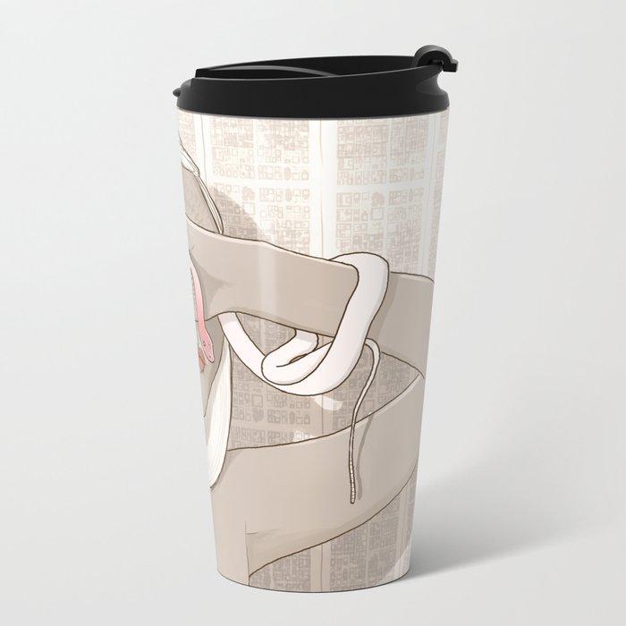 Third Eye Metal Travel Mug