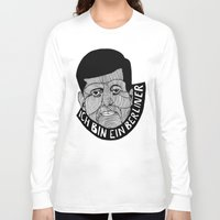 jfk Long Sleeve T-shirts featuring JFK by The Ceza