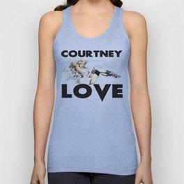 Courtney Love. Unisex Tank Top