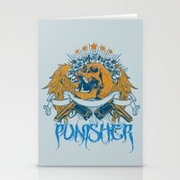 punisher Stationery Cards featuring Punisher by Tshirt-Factory