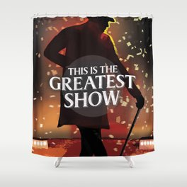 The Greatest Showman Shower Curtain
