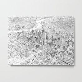 Philadelphia Metal Print
