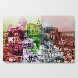 City of Angels in Sicily Cutting Board