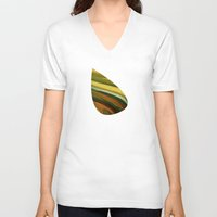 jungle V-neck T-shirts featuring Jungle by Losal Jsk