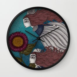The Little Mermaid (2) Wall Clock