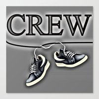 animal crew Canvas Prints featuring Crew by Cs025