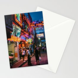 Walking Street Stationery Cards