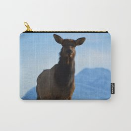 Elk in the Canadian Rocky Mountains Carry-All Pouch