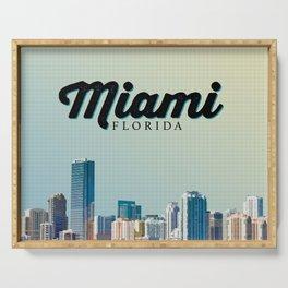 Miami Tropic Serving Tray