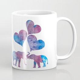 Elephants art Coffee Mug