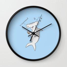 Hammered Wall Clock