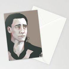 Loki (Tom Hiddleston) Stationery Cards