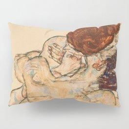 "Egon Schiele ""Mann und Frau, Umarmung"" Pillow Sham"