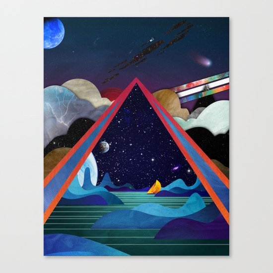 Frozen Oceans Canvas Print