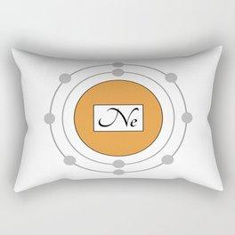 Neon - Bohr Model Rectangular Pillow