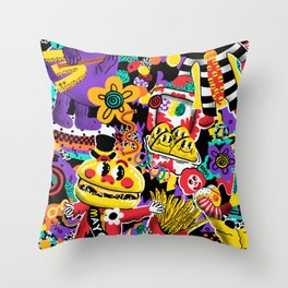 McNugget Dreaming Throw Pillow