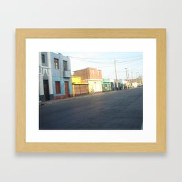 Callao Framed Art Print