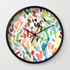Test Swatches Wall Clock