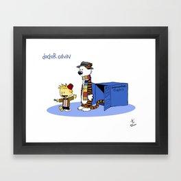 Doctor Calvin Framed Art Print