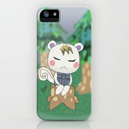 Sleepy Marshal iPhone Case