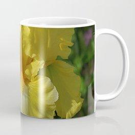Golden Iris flower - 'Power of One' Coffee Mug